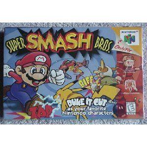 Super Smash Bros., the 1st installment that started it all! THE NOSTALGIA!!