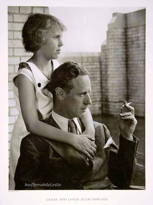 leslie howard and his daughter leslie ruth things. Black Bedroom Furniture Sets. Home Design Ideas