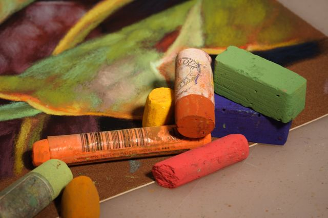 pastel work and mediums - Google Search