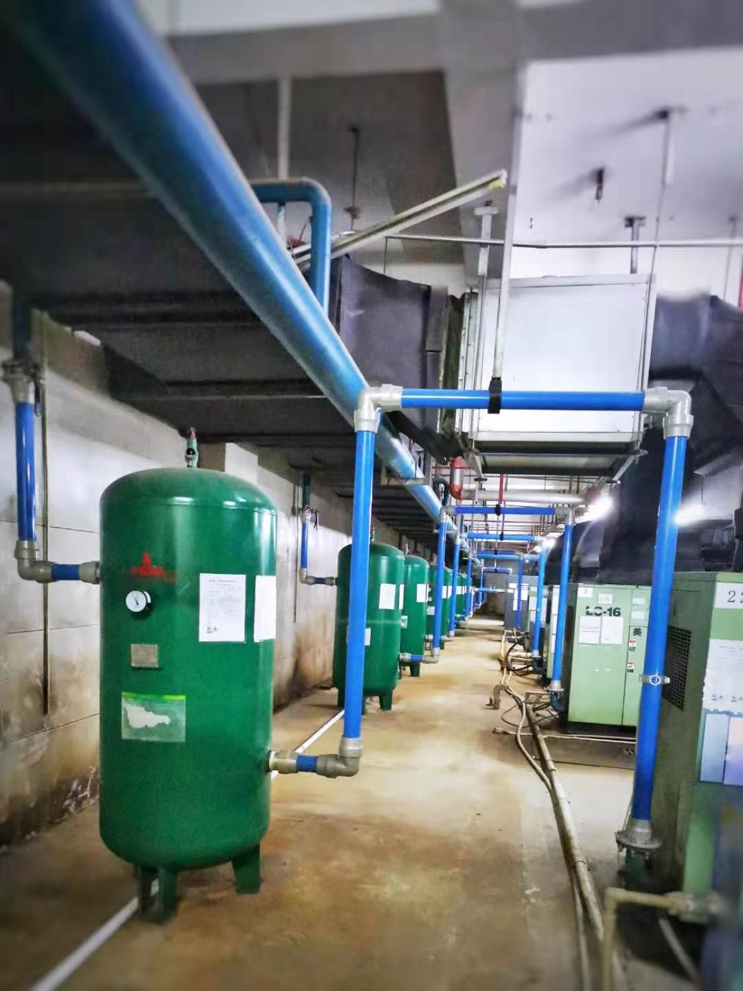 FSTpipe beautiful compressed air piping system in the