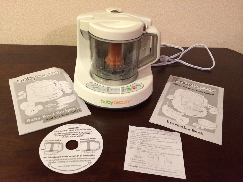 Baby Brezza One Step Baby Food Maker Food Processor