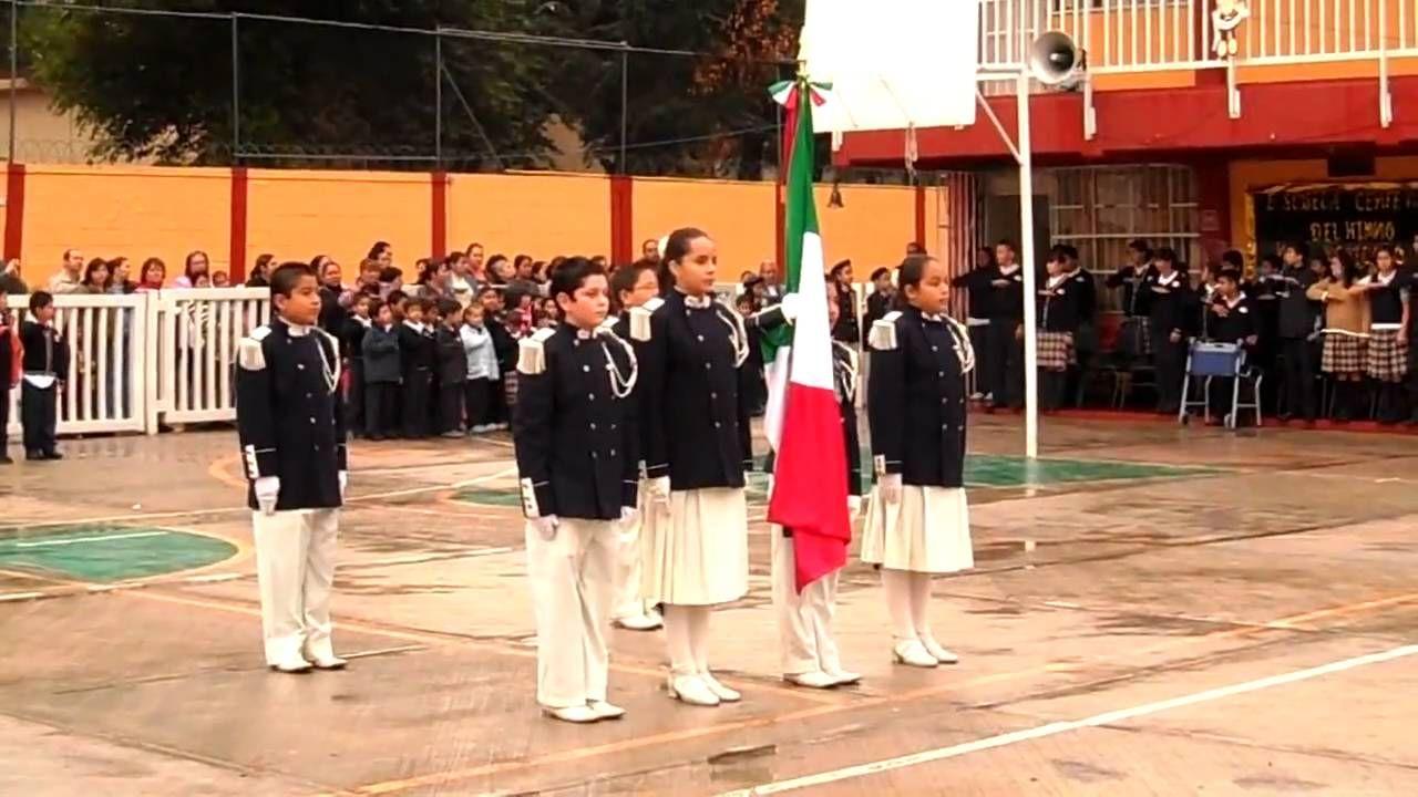 cambio de bandera (primaria centenario del himno nacional