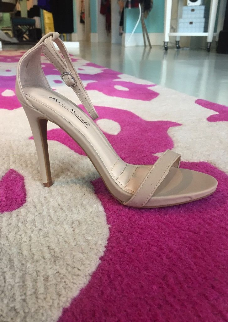 """These heels are the must have partner to any dress and any event! Approx heel height 3.5"""""""