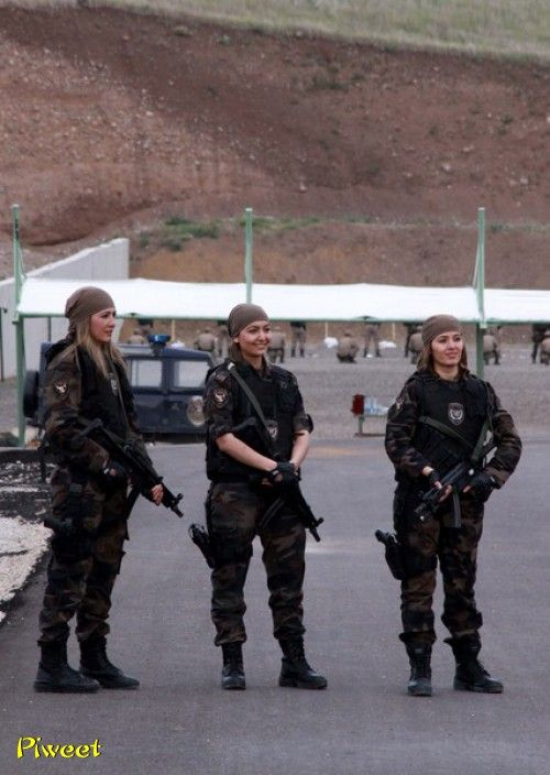 Turkish female police ( Special force)