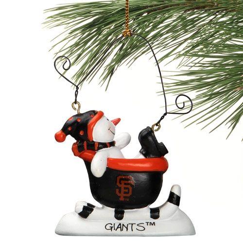 San Francisco Giants Ornament | Snowman ornaments ...