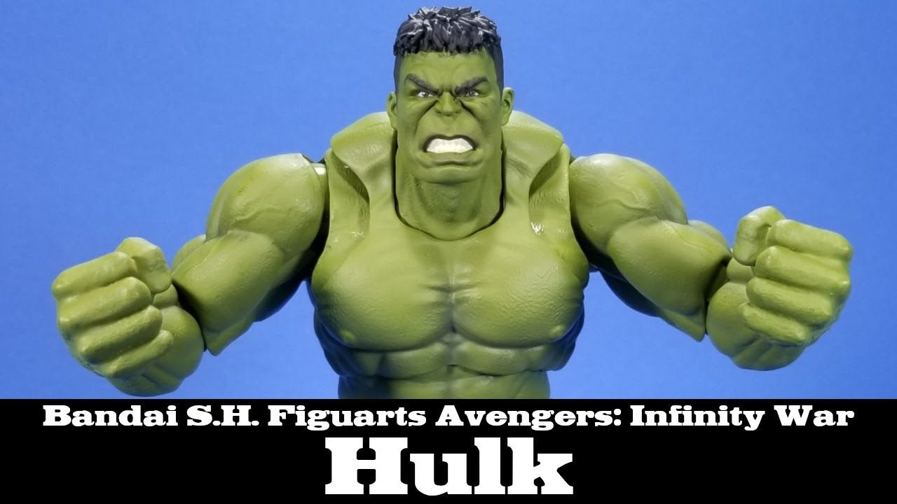Action Figure Tamashii Nations S.H.Figuarts Hulk Avengers: Infinity War