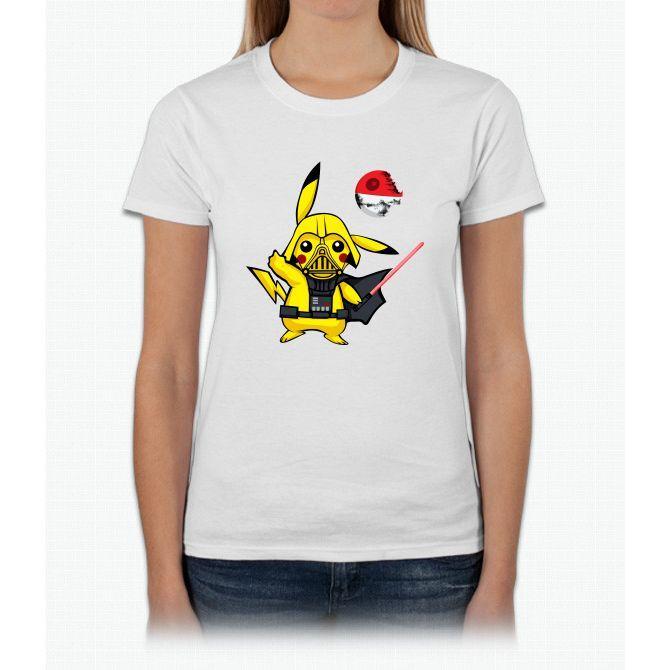 Pokemon - Pika Vader Pikachu Womens T-Shirt