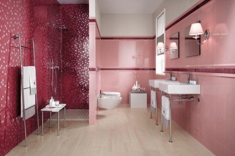 Baños de color - cincuenta ideas estupendas   Bad fliesen ...