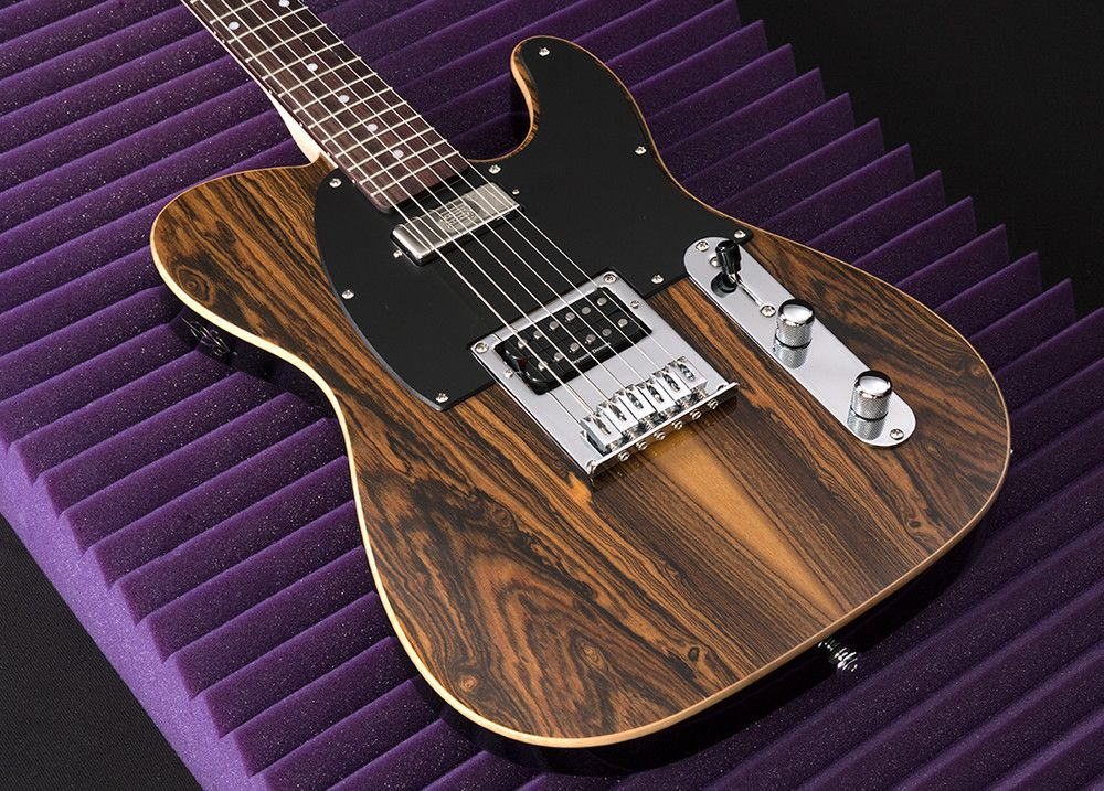 Reclaimed Walnut Tele Strack Guitars George Harrison