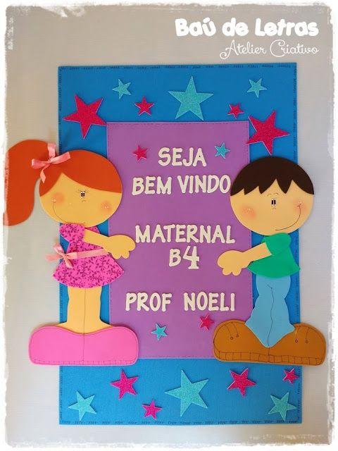 Bau De Letras E V A E Scrapbook Sala De Aula Sala De Aula