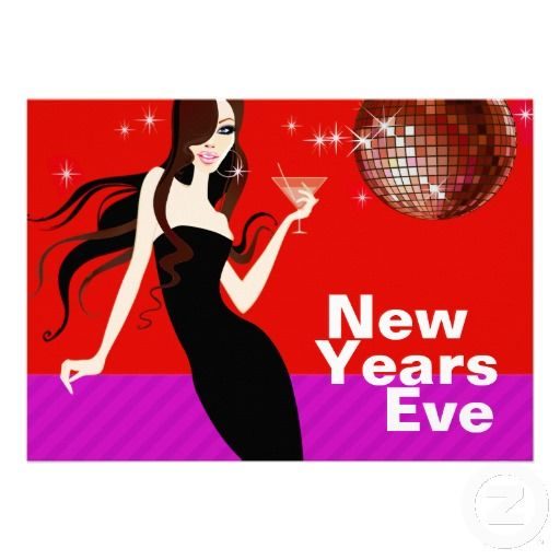 Glam New Years Eve Party - little black dress