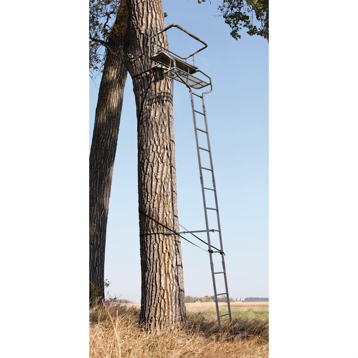Save 70 01 44 Sniper Deluxe 2 Man Ladder Tree Stand
