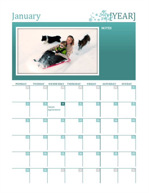 Family Calendar Templates 8+ Free Docs, Xlsx & PDF