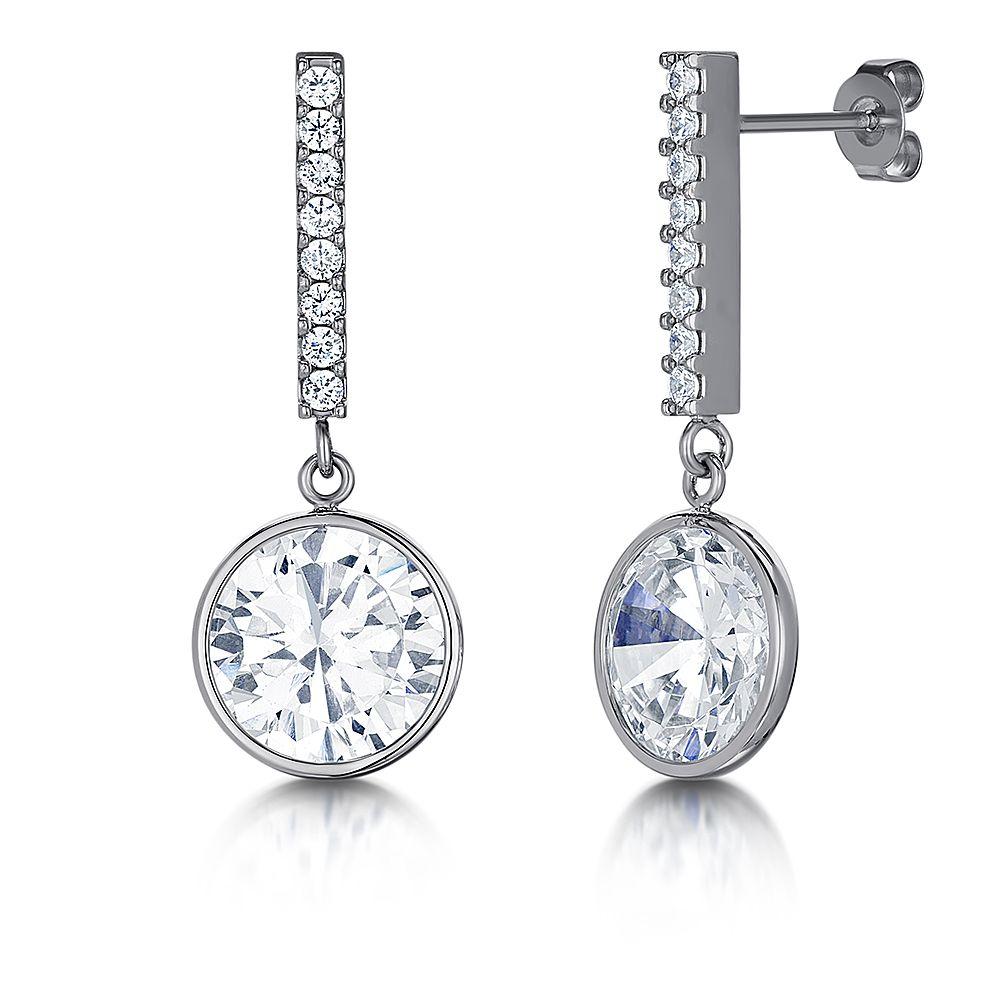 Titanium Drop Earrings