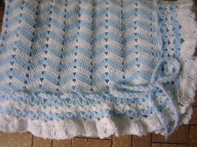 Croche para beb mantas imagui marta pinterest - Manta de crochet facil ...