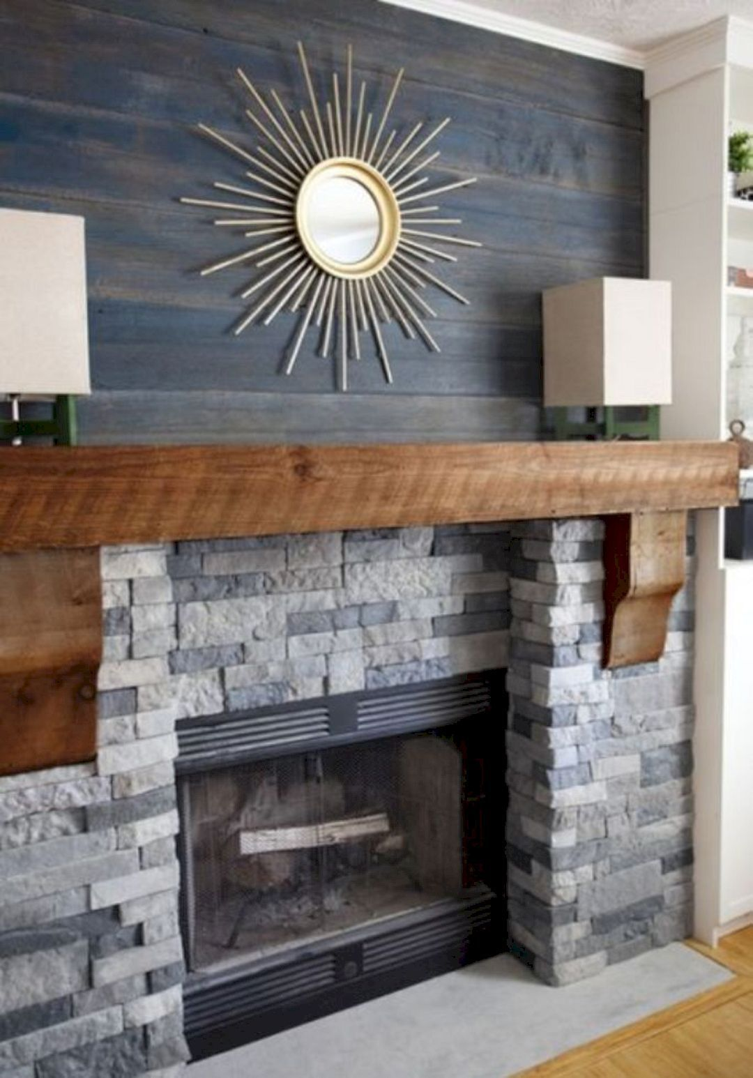 20 Stunning Fireplace Decorating Ideas Awesome Things Stone