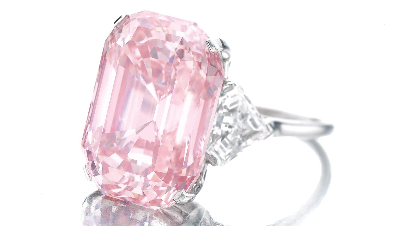 e38a92520ea5c $46.2 million Graff Pink. The rectangular-cut 24.78-carat diamond ...