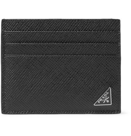 d7806fe6276564 low cost prada s luxury small wallet saffiano leather 33689 2fce5; reduced  crafted in italy from pebble grain leather pradas cardholder is the  smartest way ...