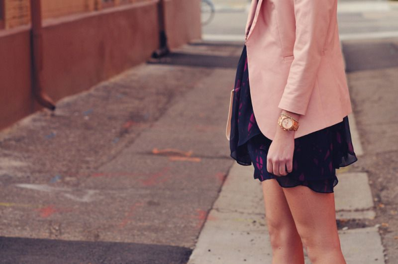 blazer over your spring dresses!
