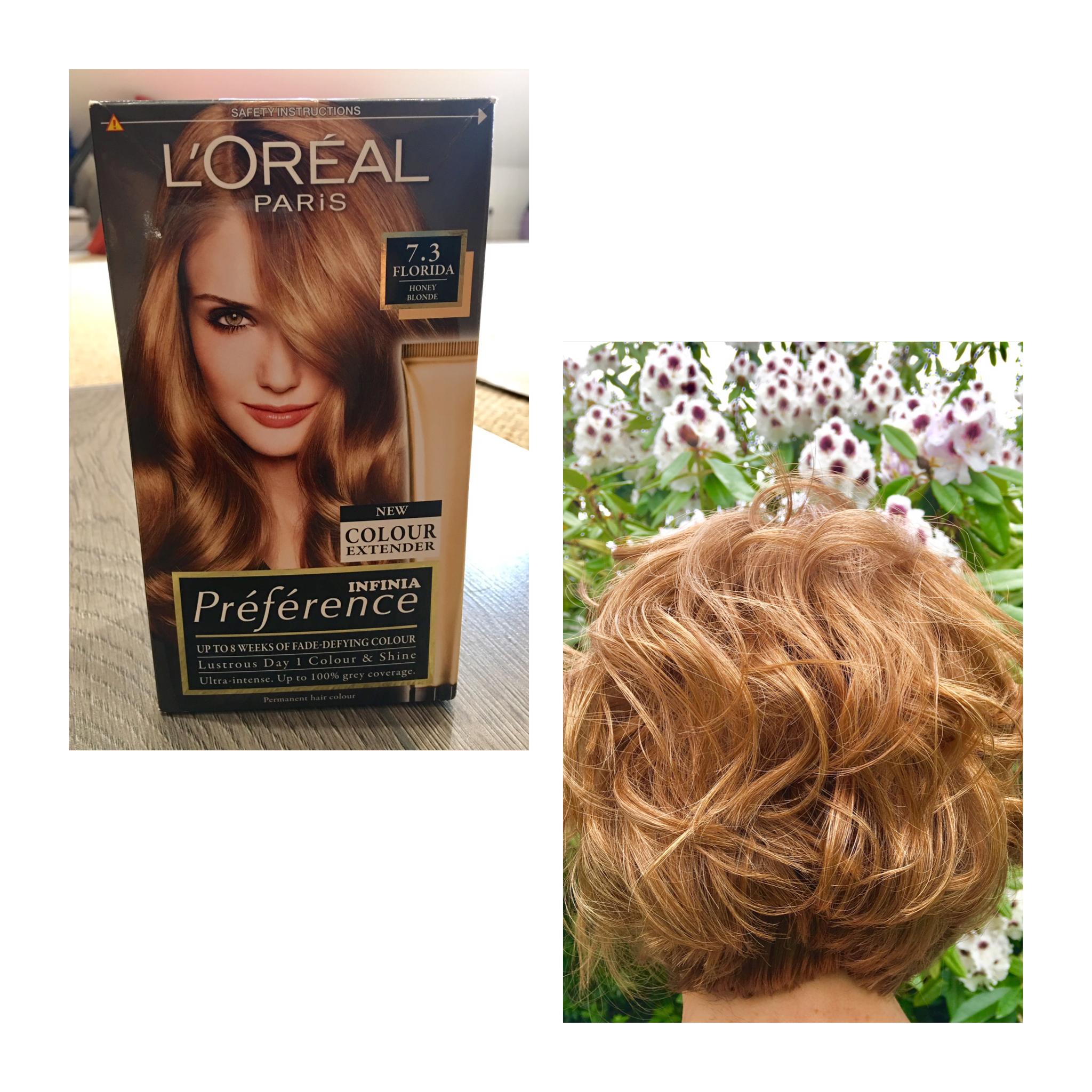 L Oreal Paris Honey Blonde Shiny Glossy Colour At Home Hair Color Loreal Paris Honey Blonde