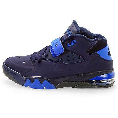 Nike Air Force Max 2013 Mens 555105 400 Blackened Blue Royal