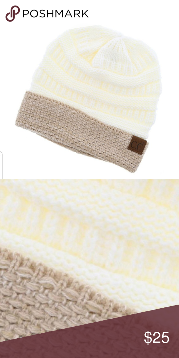 fa7f83de93d C.C. Boucle Cuff Beanie Ivory C.C. Boucle Cuff Beanie Ivory. Super soft and  stylish. 100% acrylic. Brand new style for 2018 2019. C.C Accessories Hats