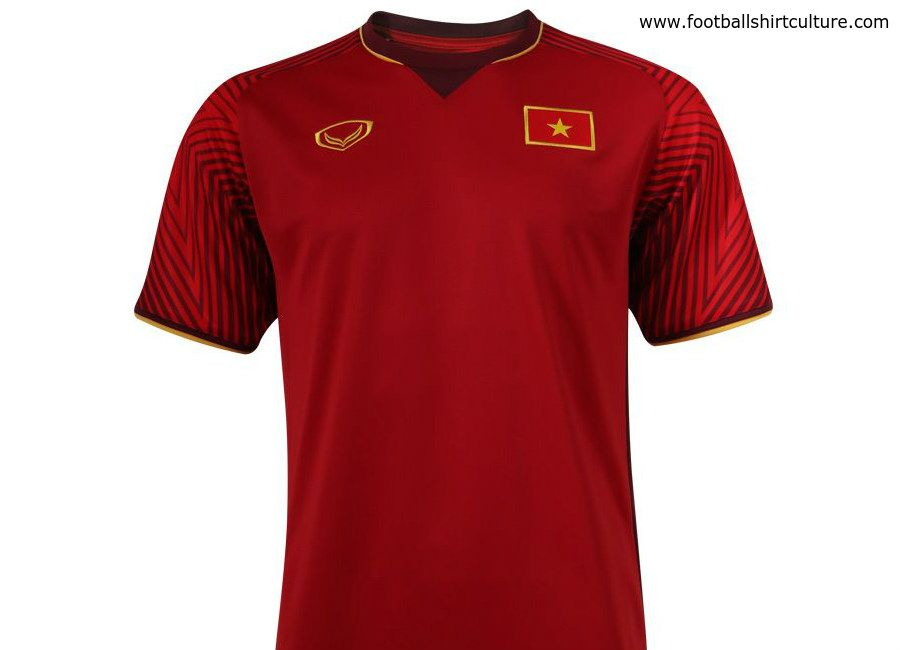 half off 00b71 fa2ac football #soccer #futbol Vietnam 2018 Grand Sport Home Kit ...