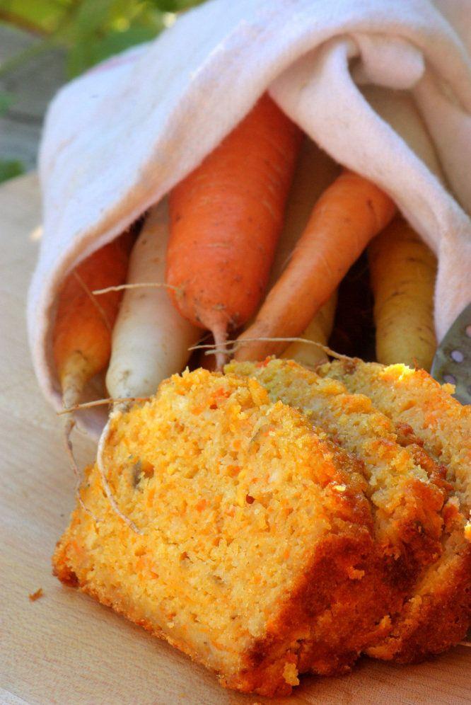 Carrot bread, pumpkin bread, zucchini bread