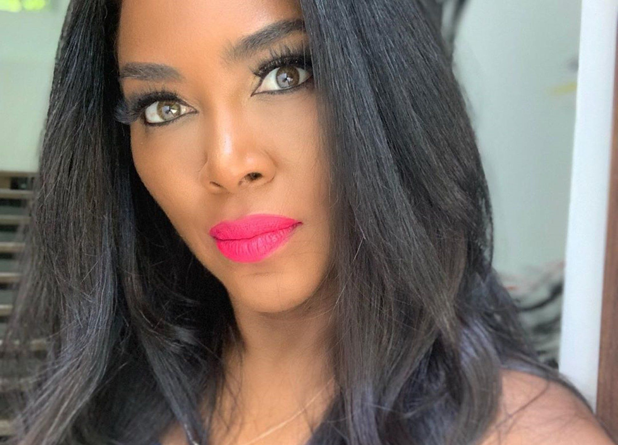 Kenya Moore's Baby Girl, Brooklyn Daly, Gives Fans Baby