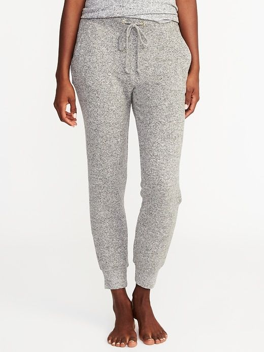 2c1770ef525 Plush-Knit Lounge Joggers for Women  Old Navy   30
