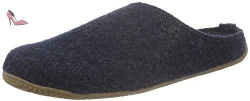 Living Pantoffel adulte mixte Chaussons Bleu Kitzbühel Blau r7pwrqU6