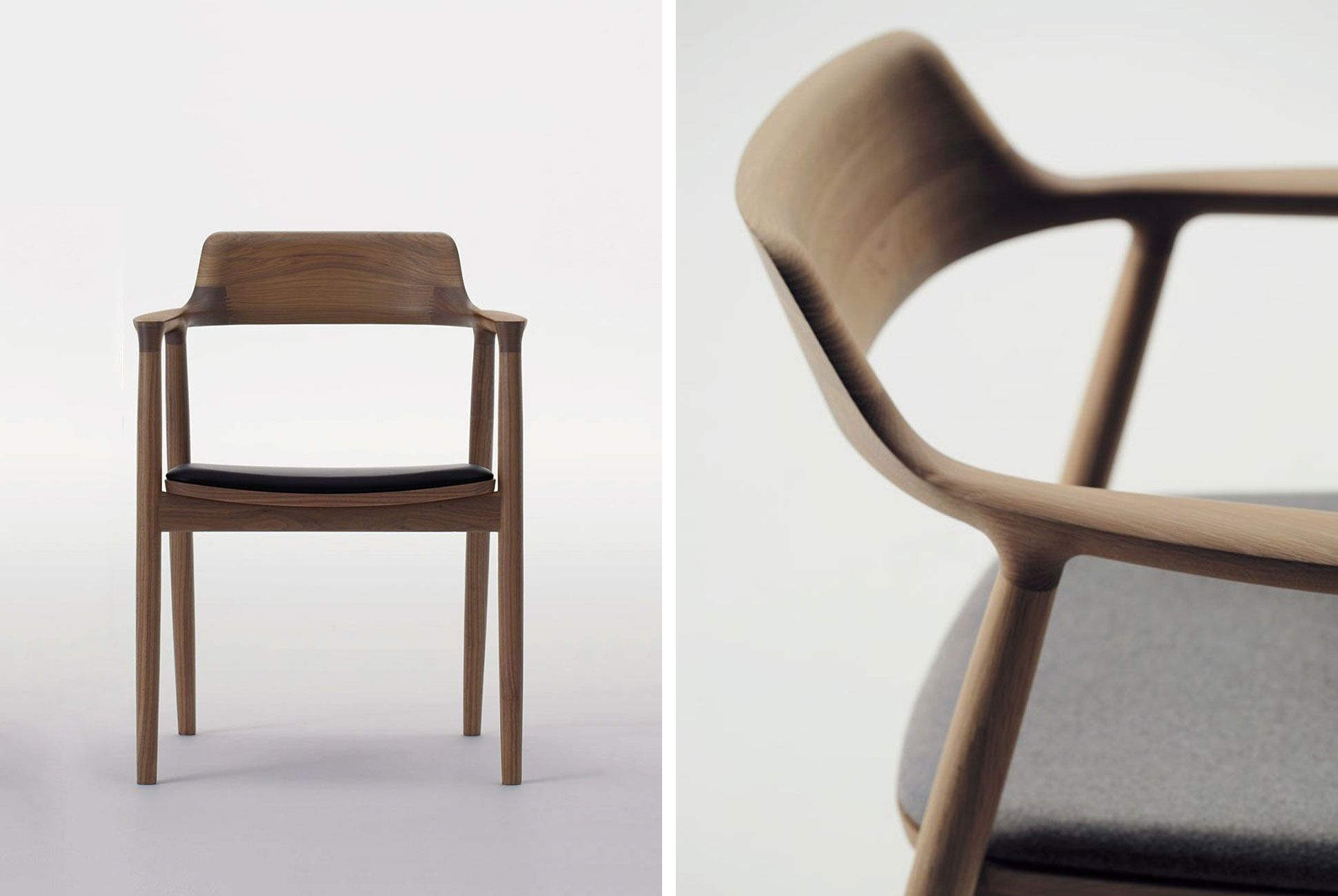 The Story Behind The 2 500 Japanese Armchair In Apple S New Cafe Chair Stool Chair Furniture Plans