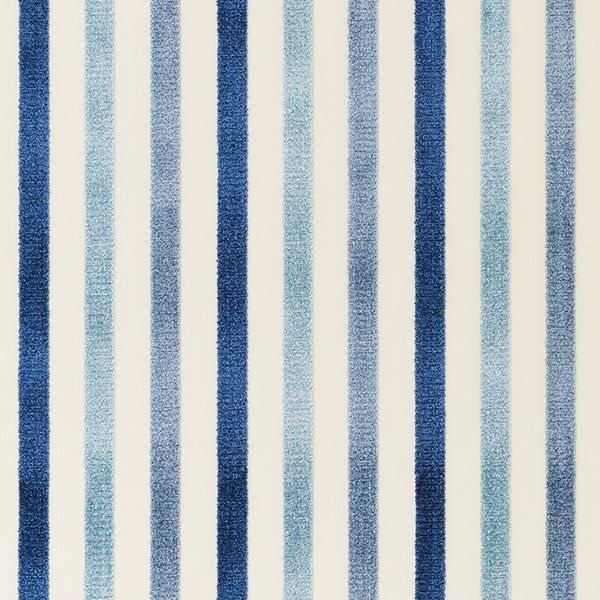 Le Matelot | 72290 in Blue | Woven on a traditional velvet wire loom ...