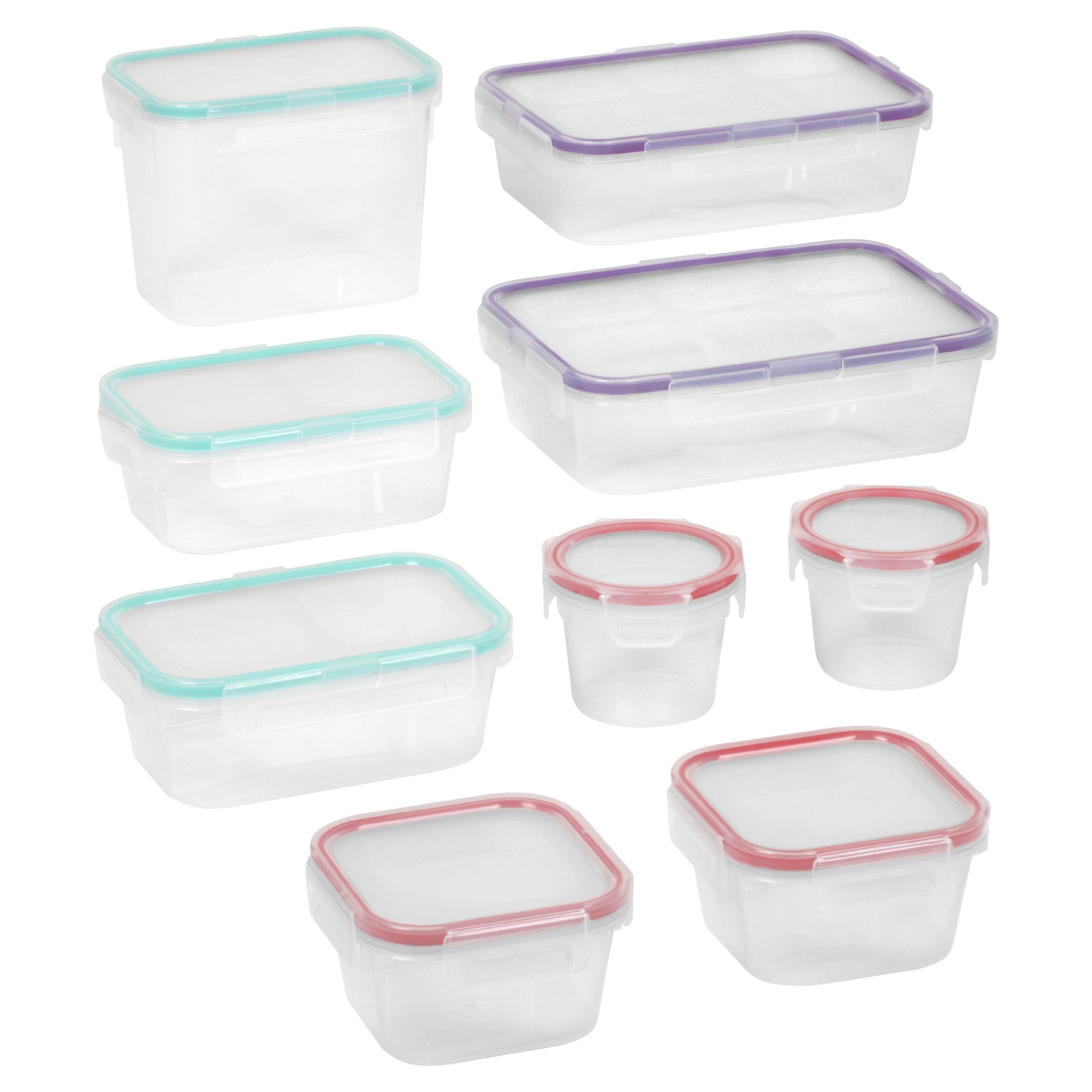 Snapware Airtight Food Storage Set Plastic *** Check out the image by visiting the link.  sc 1 st  Pinterest & Amazon.com: Snapware 18-Piece Airtight Food Storage Set Plastic ...
