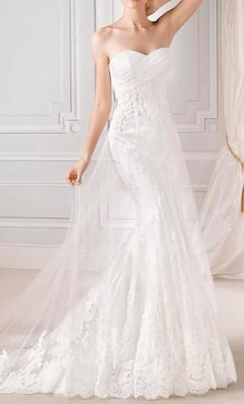 La Sposa Denia  4: buy this dress for a fraction of the salon price on PreOwnedWeddingDresses.com
