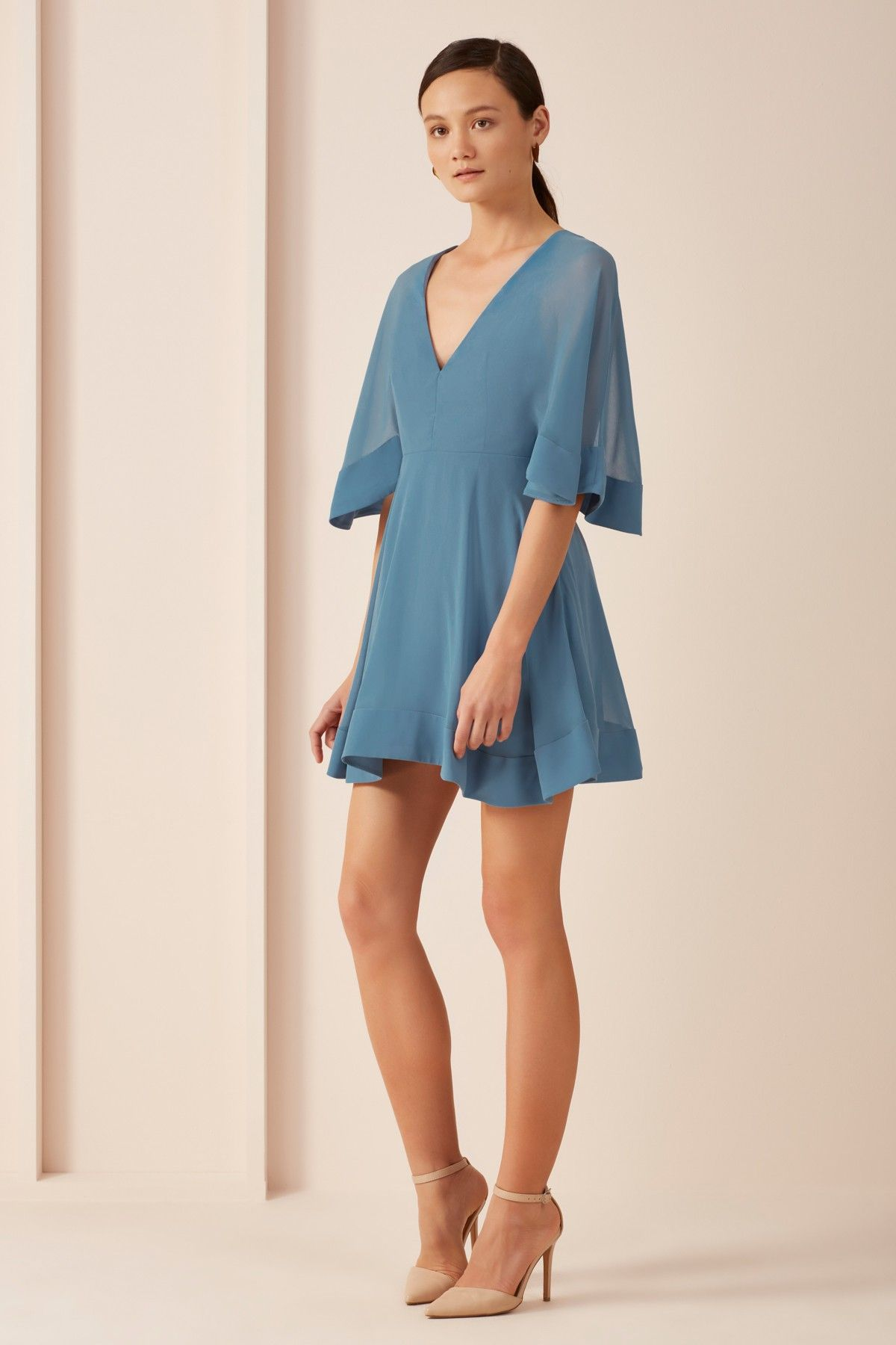 e3be54aba603 KEEPSAKE UNTOUCHABLE MINI DRESS light blue