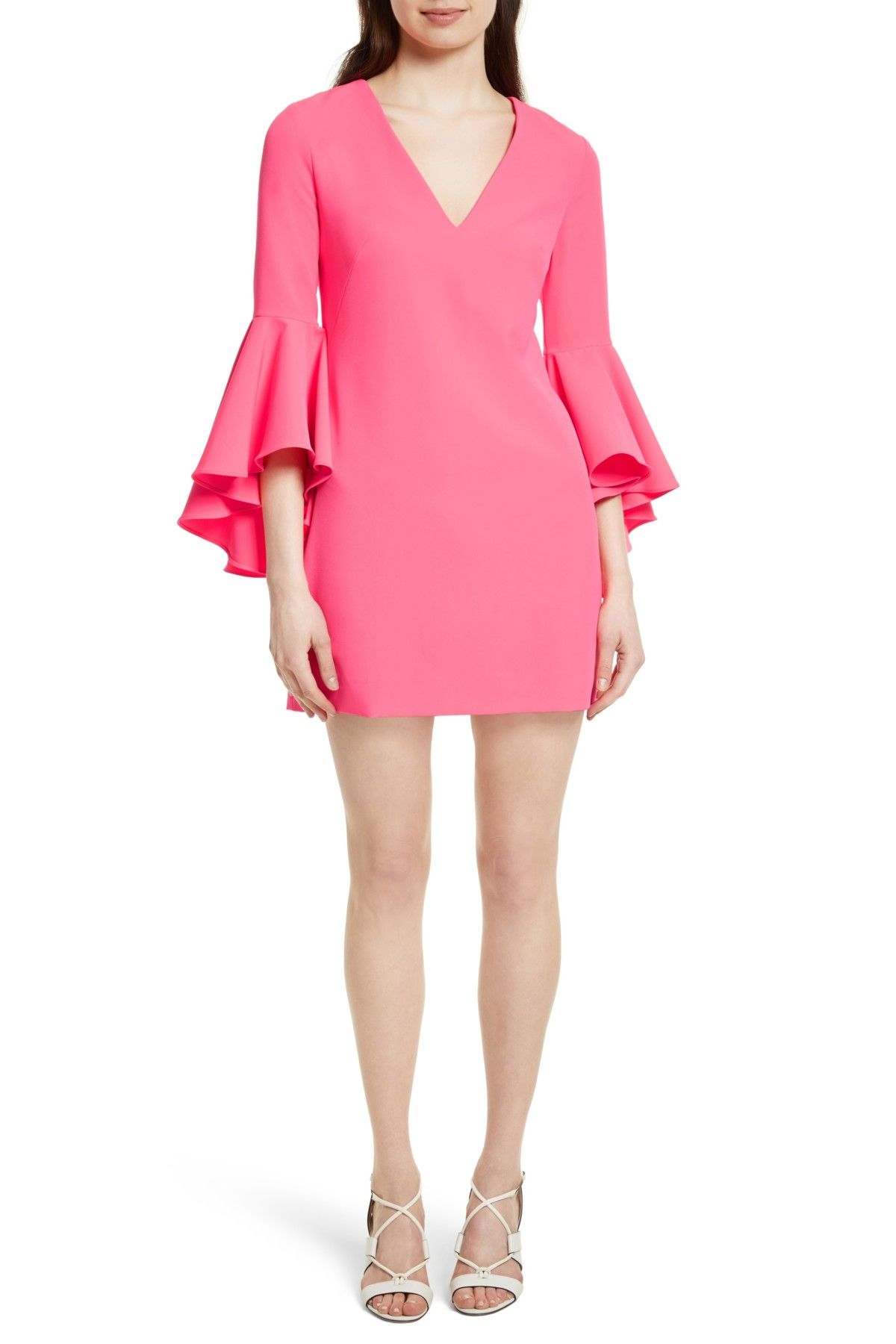 Nicole Bell Sleeve Dress