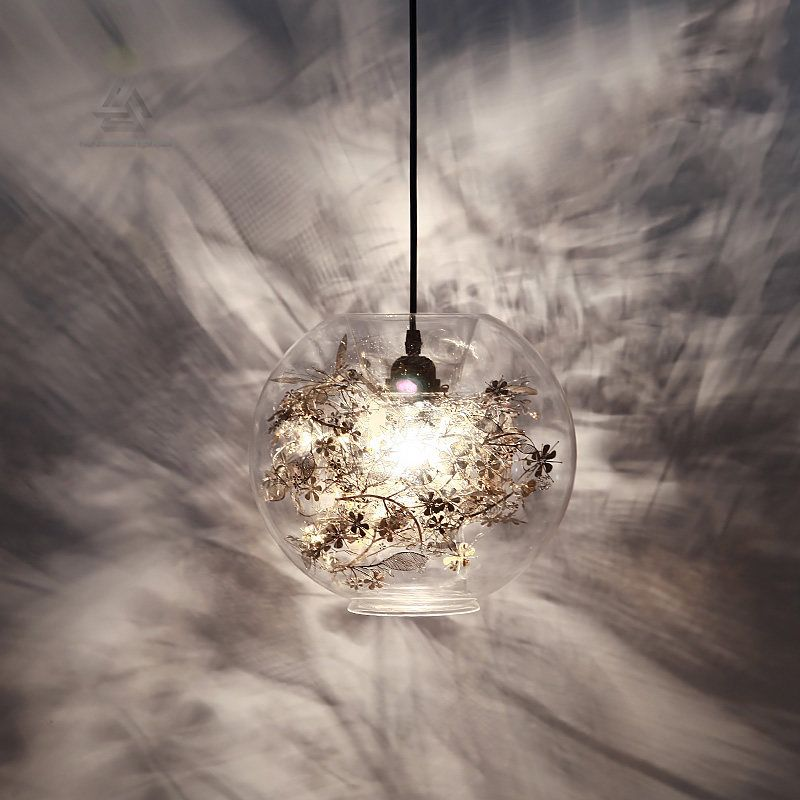 Chandeliers Modern Chandeliers Led Pendant Lamps Living Room Lighting Nordic Luminaires Novelty Fixtures Glass Ball Loft Hanging Lights
