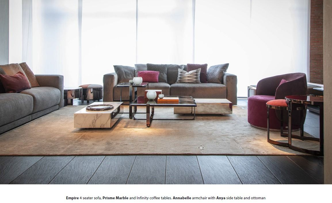 Fendi Casa 2018 Collection Luxury Furniture Objects And More Fendi Casa Furniture Living Room Sets Furniture