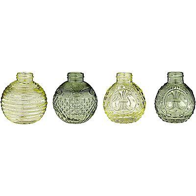 Buy John Lewis Bud Vases Green Assorted Online At Johnlewis