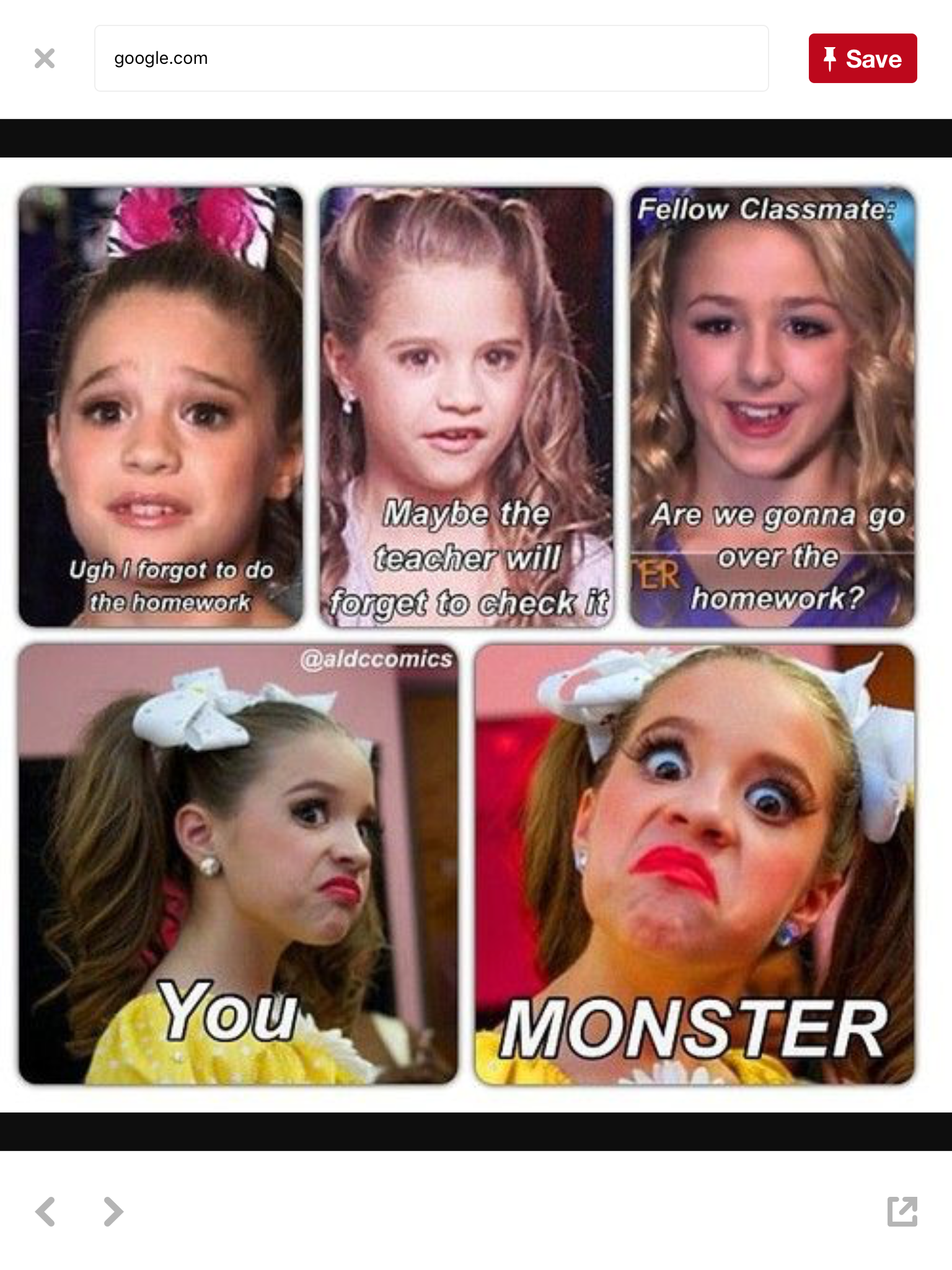 Pin by Paige on Funny and weird pics in 2019   Dance moms ...