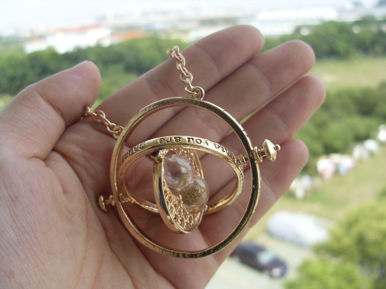 Harry Potter Zmieniacz Czasu Naszyjnik Hermiony 4436499048 Oficjalne Archiwum Allegro Phone Ring Rings Time Turner
