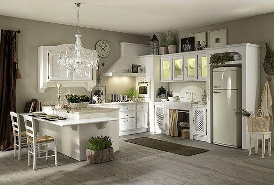 cucina muratura shabby - Cerca con Google | Küchen | Pinterest ...