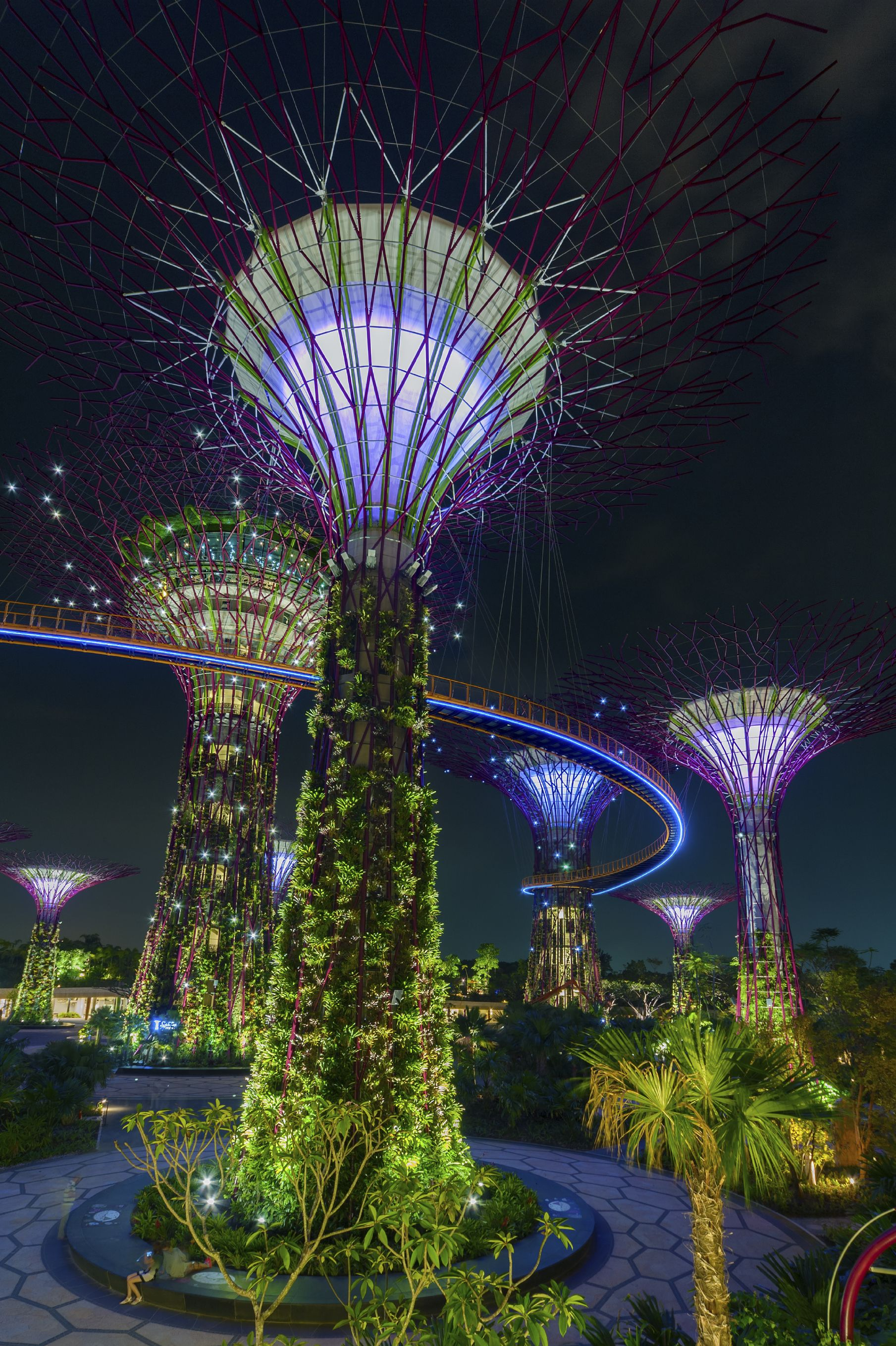 Gardens by the Bay in Singapore. I definitely want to