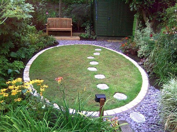 Circular Garden Entrance Found On Gardensanctuaries Co Uk Circular Lawn Garden Entrance Circular Garden Design
