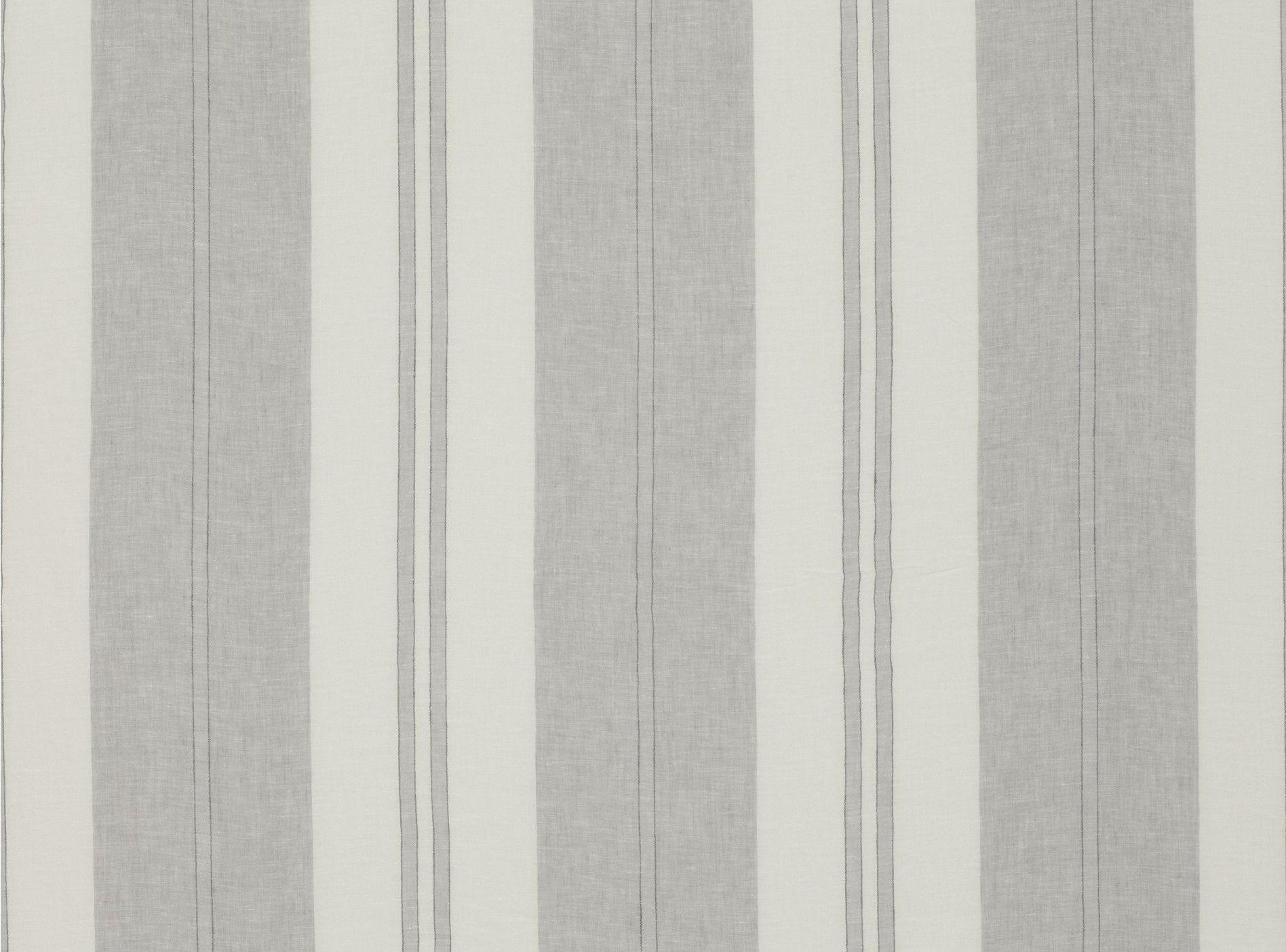 Palm Stripe Grey Mist Mark Alexander Fabric and Trim