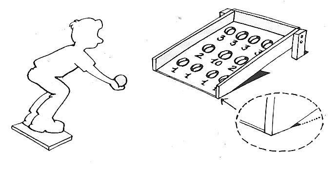 animations enfants billard japonais lancer des balles dans des trous ayant une certaine. Black Bedroom Furniture Sets. Home Design Ideas