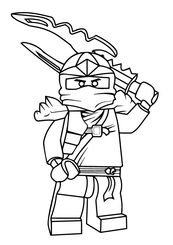 print coloring image Top 40, Fun projects and Craft - best of lego ninjago coloring pages ninja