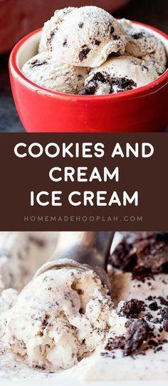 Cookies and Cream Ice Cream #cheesecakeicecream