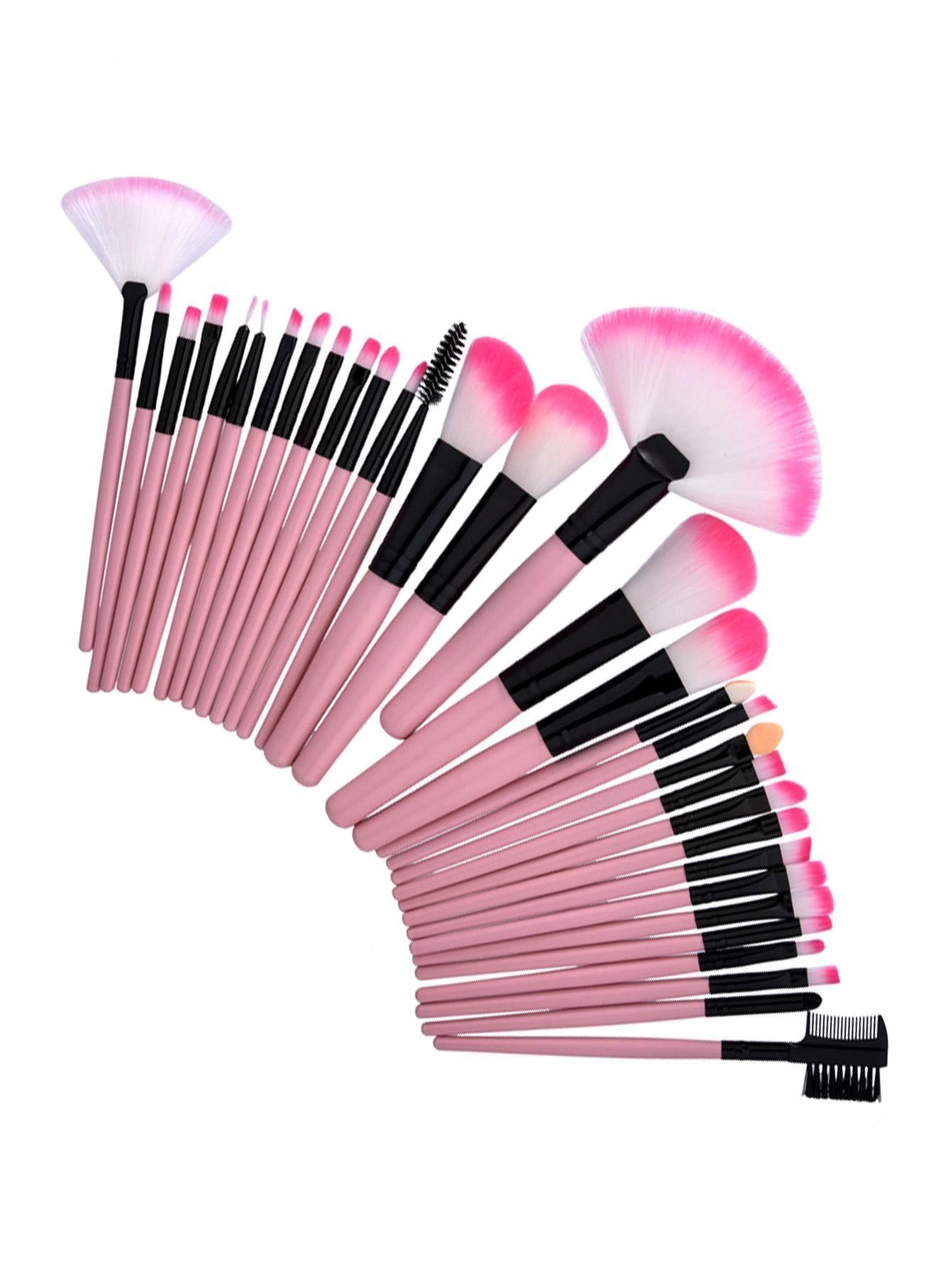 95e4e24a7b Shop Professional Makeup Brush 32pcs online. SheIn offers Professional  Makeup Brush 32pcs & more